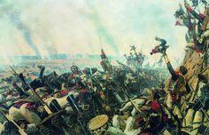 """""""End of the Battle of Borodino,"""" by Vasily Vereshchagin, 1900."""