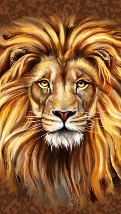 The Kind of Praise That Shuts Satan's Mouth - Psalm (Praying the Psalms) - Indie Author Lion Wallpaper, Painting Wallpaper, Lion Pictures, Nature Pictures, Praying The Psalms, Lion Photography, Lion Painting, Lion Art, Mountain Paintings