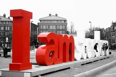 I Amsterdam sign. (Amsterdam, North Holland, The Netherlands)