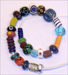 Haithabu beads replica's