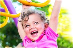 Playing Laughing, and Learning in Preschool - Here are some ways to learn to let go of control and encourage laughter with preschoolers!