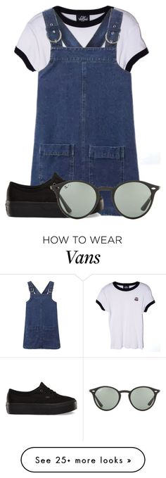 """""""Untitled #1544"""" by maggieyouth on Polyvore featuring Valfré, Vans, Ray-Ban, women's clothing, women, female, woman, misses and juniors"""
