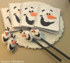 Varal das Artes: Olaf - Frozen