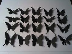 Motylki Motyle 3D na ścianę naklejki 50szt+MONTAŻ (5492918076) - Allegro.pl - Więcej niż aukcje.
