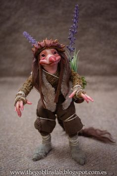 REAL GOBLIN? DUENDE REAL? OOAK criatura fantástica pixie de Otoño  Nÿmp por GoblinsLab. MYTHICAL CREATURE.  Handmade. Ooak Doll. criatura fantástica por GoblinsLab. Criaturas Mágicas de Fantasía hechas a mano, por el artista Moisés Espino. The Goblin´s Lab. Madrid. Criaturas 100% hechas a mano. Duendes, Hadas, Trolls, Goblins, Brownies, Fairies, Elfs, Gnomes, Pixies....  *Artist Links:  http://thegoblinslab.blogspot.com.es/ https://www.etsy.com/shop/GoblinsLab…