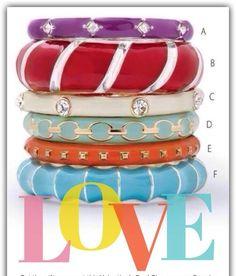 All your spring favorites! Love Premier Designs