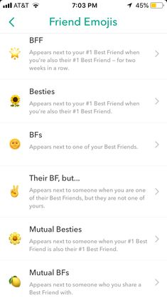 pinterest: @ellagracespann Snapchat Friends List, Snapchat Names List, Snapchat Friend Emojis, About Snapchat, Snap Friends, Friends Emoji, Cute Relationship Goals, Cute Relationships, Snap Emojis