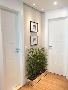 Porta kit pronto especial com pintura de laca P.U branco acetinado (Sayerlack) - Ecoville Portas Especiais