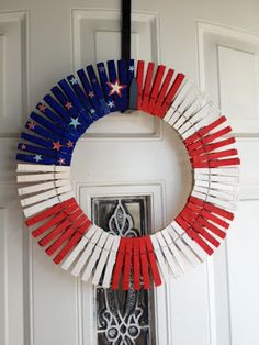 DIY Forth of July Wreath