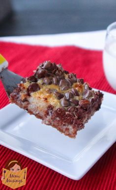 Use fb recipe shared on my page.  Menu Musings of a Modern American Mom: Hello Dolly Bars (aka Magic Cookie Bars)