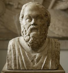 Socrates. Double herm with portraits of Socrates and roman philosopher Seneca. Marble. 1st half of the 3rd century. Portraits are coupled in double herm by later roman copyist. Inv. No. Sk 391 (R 106). Berlin, State Museums, Pergamon Museum