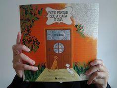 Livro de Colorir: Pode Pintar Que A Casa É Sua.