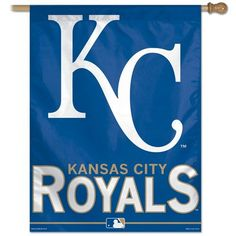 MLB Vertical Flag  http://allstarsportsfan.com/product/mlb-vertical-flag/?attribute_pa_teamname=kansas-city-royals  Officially Licensed Product Quality materials used for all Wincraft products Cheer on your team with products from Wincraft and express your pride!