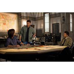 'Supernatural' Episode 8.22 Photos Sam, Dean and Cas Watch a Movie