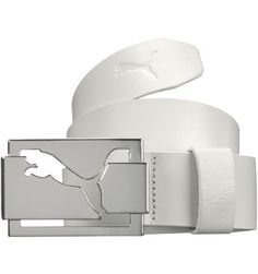 PUMA Men's High Shine Belt | White  Free Traffic To Your Website. Promote Your business for Free  http://www.ibotoolbox.com/teinvited3.aspx?jid=72894