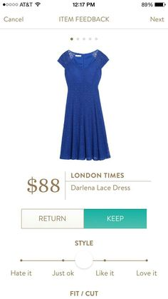 This waistline looks like it would be perfect for me. This is a cute dress!