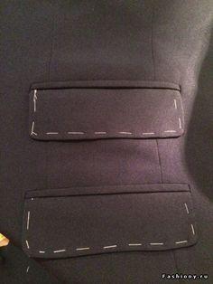 МК карман в рамочке с клапаном