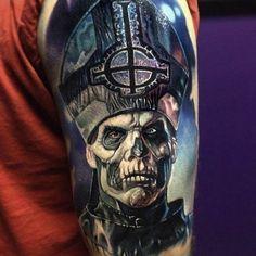 Priest of death Tattoo #Tattoo, #Tattooed, #Tattoos