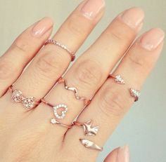 rings and knuckle rings