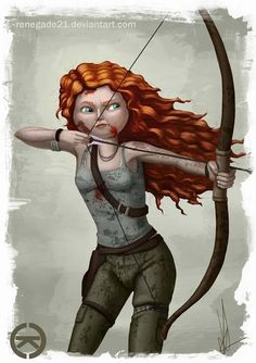 Merida is Lara Croft