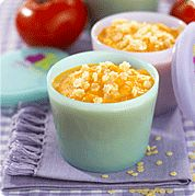 Pasta stars with carrots - a lovely weaning recipe from nutrition expert, Annabel Karmel.
