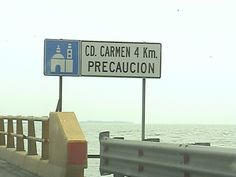 A bridge of 4 km to reach Ciudad del Carmen, Campeche. Yucatan peninsula ;D **