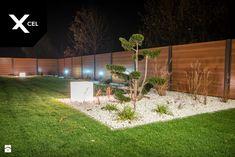 Nowoczesne ogrodzenie Xcel. Rockina Cubero + Horizon Massive - zdjęcie od XCEL Ogrodzenia - Ogród - Styl Nowoczesny - XCEL Ogrodzenia