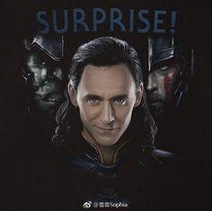 Tom Hiddleston as Loki in Thor: Ragnarok. Source: https://m.weibo.cn/status/4152738147111597