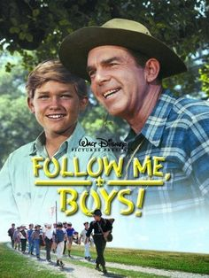 Follow Me, Boys! starring Kurt Russell and Fred MacMurray 1964...olne of my husband's very favorite movies