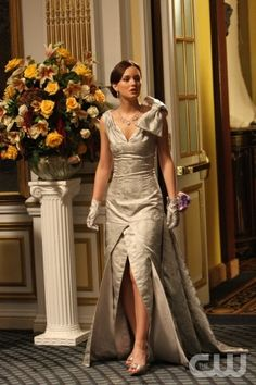"""""""Hi, Society"""" -- Pictured Leighton Meester as Blair  in Gossip Girl on The CW. Photo Eric Leibowitz/The CW © 2007 The CW Network, LLC.  All Rights Reserved"""
