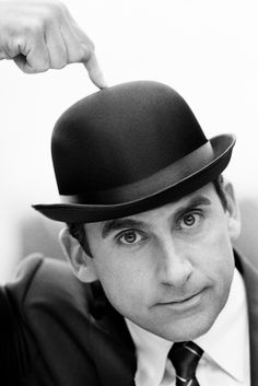 Steve Carell. Love him and this photo.