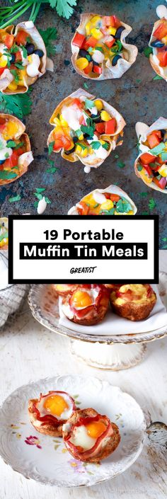 Make Life Delicious! Here's 19 portable muffin meals from main course to desserts and everything in between. Think muffin-cupcake-breakfast and reception bits, airplane snacks says PJ, travel planning expert. #alltravelersallowed #allweddingsallowed #givememyhygge