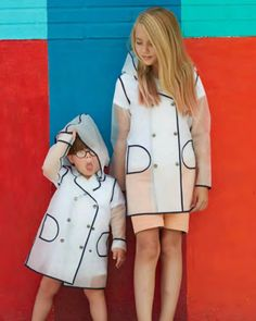 #Raincoats by: #CocoBlancKids ❤ Rain Wear, Baby Kids, Child Baby, Kids Fashion, Raincoat, Shirt Dress, Cool Stuff, Children, Instagram Posts