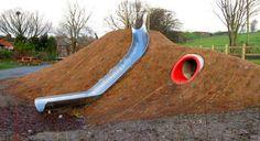 Half Round Embankment Slides | Slides | massey