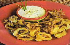 Receta chicharrón de calamar comida peruana, pescados y mariscos