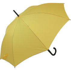 Blooming Brollies Classic Auto Stick Umbrella - Yellow