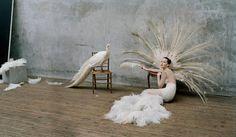 Jennifer Lawrence, Epping, UK, W Magazine, October 2012 Tim Walker - Recent Works