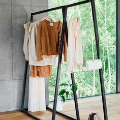The Organised Home Open Wardrobe, Wardrobe Rack, Sheaffer Fountain Pen, Clothing Displays, Furniture Inspiration, Wardrobes, Home Organization, Storage Solutions, Retail