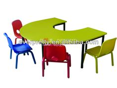 Colorful Design Kid FurnitureChildren Preschool Furniture - Nursery tables and chairs