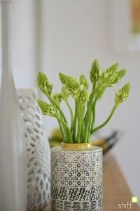 Fresh flowers arranged in a modern home styling package - home styling Hobart