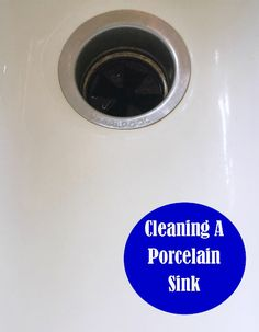 Cleaning A Porcelain Sink