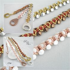 *P Beading Tutorial Bracelet ODE step by step with pictures