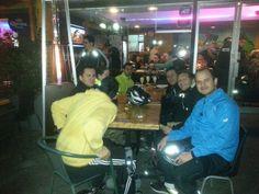 El Team MTB pedaleando  en el Cap 25
