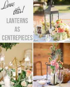 Have you thought about using lanterns for wedding centrepieces? Brows these wonderful ideas showing lanterns used as centrepieces - lanterns for sale too! Wedding Decorations For Sale, Spring Wedding Centerpieces, Lantern Centerpieces, Table Decorations, Lanterns For Sale, Wedding Designs, Wedding Ideas, Autumn Wedding, Dream Wedding