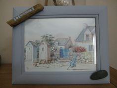 """Cadre """" Petite Escapade"""" au bord de mer : Décorations murales par lalouchic"""