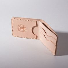 Billfold Wallet // Natural Tooling Leather