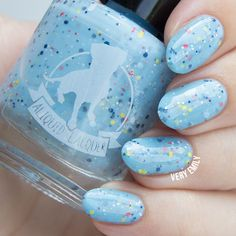 Very Emily » Aliquid Lacquer – Nail Polish Is For The Birds - Northern Flicker