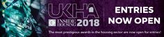 2018 UK Housing Awards, Inside Housing, Closing date for entries: 10 November 2017, Awards night: 02 May 2018 at Park Plaza Westminster Bridge