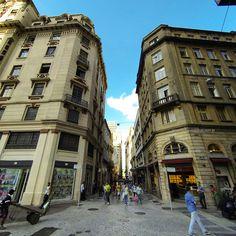 Sao Bento street, Sao Paulo - Brazil