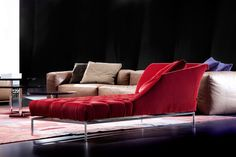 Autografo Capitonne Chaise Lounge, Contemporary Living Room Design at Cassoni.com